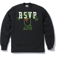 RSVP GALLERY BAPE STORE NYC 10th L/S TEE