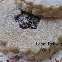 Sugar cookies, with Raspberry Jam for Local Delivery Only
