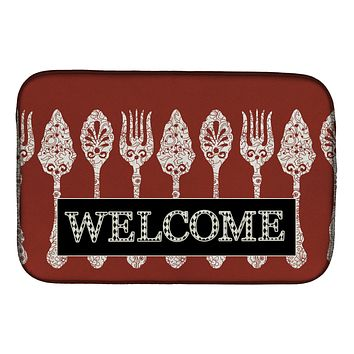 Serving Spoons Welcome Dish Drying Mat SB3090DDM