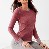 Out From Under Cozy Crew Neck Long Sleeve Top | Urban Outfitters