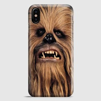 Face Chewbacca Star Wars iPhone X Case