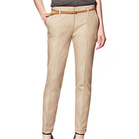 Multi-Button Pants in Khaki