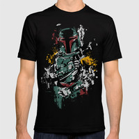 Fett Splash - STAR WAR T-shirt by bykai