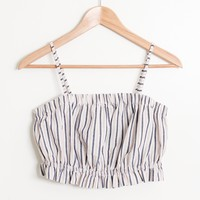 Julia Stripe Balloon Top