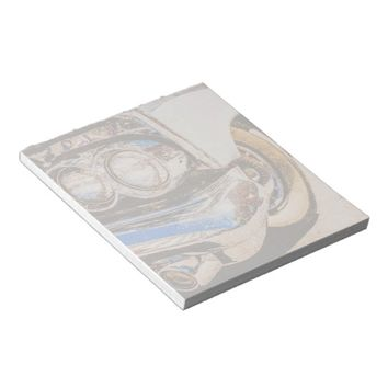 Classic Car Beauty Funny Notepad