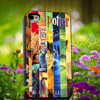 Harry Potter JK Rowling Cover Book - for iPhone 4/4s, iPhone 5/5s/5C, Samsung S3 i9300, Samsung S4 i9500 Hard Plastic Case