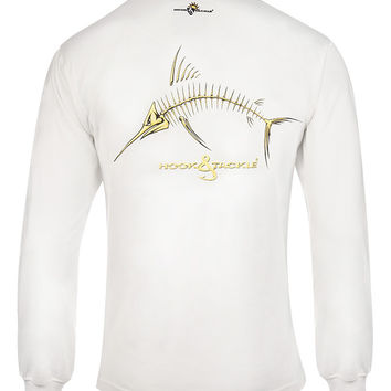 Men's Marlin X-Ray L/S UV Fishing T-Shirt
