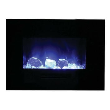 """Amantii 35"""" Built-in / Wall Mounted Electric Fireplace (WM-FM-26-3623-BG)"""