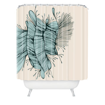 Gabi Birds Of A Feather 1 Shower Curtain