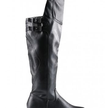 Motorcycle Knee High Boots