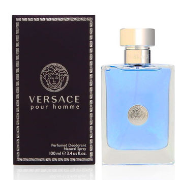 VERSACE - VERSACE FOR MAN PERFUMED DEO VAPORIZADOR 100 ML