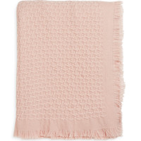 Cole Basketweave Cashmere Blend Throw