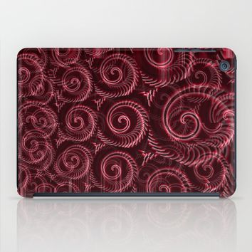Maroon Decoration #2 iPad Case by Moonshine Paradise