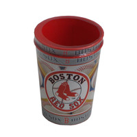 Majestic Plastic Cup 16-Ounce 2-Pack - Boston Red Sox