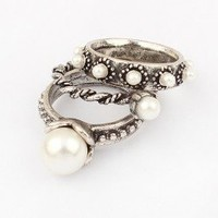 Pearl Melody Stack Rings | LilyFair Jewelry