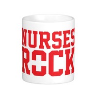 Awesome 'Nurses Rock' First Aid Mug
