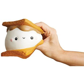 Marshmallow S'mores Slow-Rise Toy