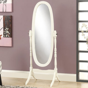 Roundhill Furniture Traditional Floor Cheval Mirror | Wayfair