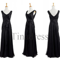 Custom Black Long Prom Dresses Evening Dresses Party Dress Evening Gowns Cocktail Dress Homecoming Dresses Wedding Party Dresses