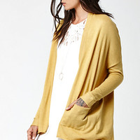 Billabong Outside The Lines Open Front Cardigan at PacSun.com