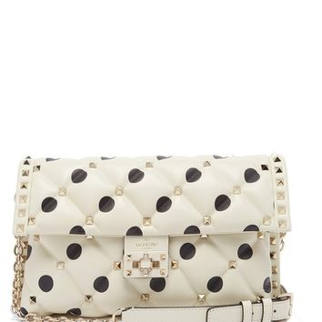 Candystud quilted-leather clutch | Valentino | MATCHESFASHION.COM US