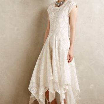 Embroidered Palena Dress by Payal Pratap White