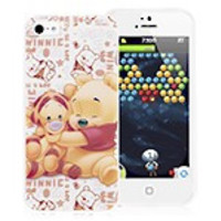 Winnie the Pooh and Tigger Case for iPhone 5 & 5S
