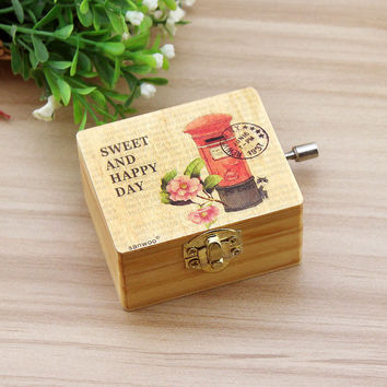 Home Decor Vintage Box Creative Gifts Decoration Cars Music Accessory Box [6282817990]