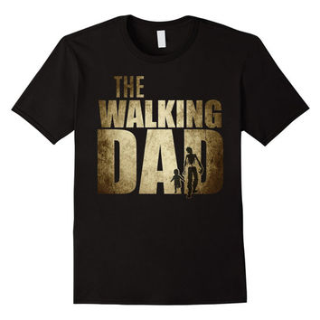 Dad gifts for Christmas new Dad to be The Walking Dad t shirt Funny baby Shower Gift father day Dad Shirt Gift funny christmas  baby gift