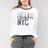 Hello Nyc Sweatshirt