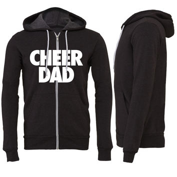 Cheer Dad Zipper Hoodie