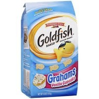 Pepperidge Farm Goldfish Grahams, Flavor Blasted Vanilla Cupcake, 6.6-ounce bag (pack of 4)