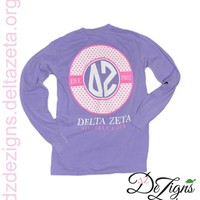 DZ DeZigns Apparel - Purple Established 1902 Long Sleeve T-Shirt - Unisex Long Sleeve
