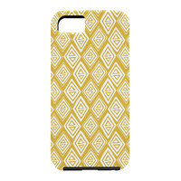 Heather Dutton Diamond In The Rough Gold Cell Phone Case