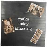 Primitives by Kathy Make Today Amazing Metal Art Board | Nordstrom