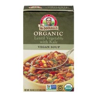 Dr. McDougall's Organic Lentil Vegetable Vegan Soup, 18.0 OZ - Walmart.com
