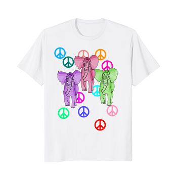PACHYDERMS FOR PEACE T-Shirt ELEPHANTS
