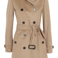 Burberry London - Mid-length wool and cashmere-blend trench coat