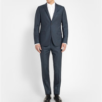 Calvin Klein Collection - Navy Slim-Fit Wool-Flannel Suit | MR PORTER