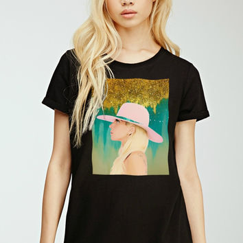 Lady Gaga Joanne T-Shirt  | Lisa Jaye Art Designs