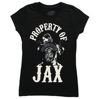 Sons of Anarchy Womens Juniors Cotton Graphic T-Shirt