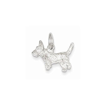 Sterling Silver Scottish Terrier Charm, Best Quality Free Gift Box Satisfaction Guaranteed