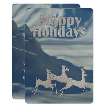Happy Holidays Bronco Bucks Card