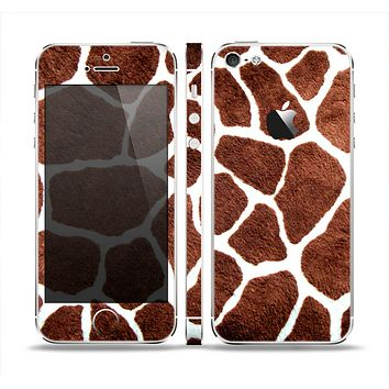 The Real Giraffe Animal Print Skin Set for the Apple iPhone 5