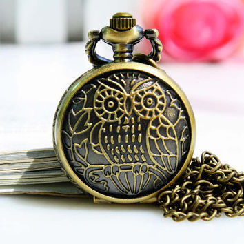 Trendy Designer's New Arrival Great Deal Stylish Gift Good Price Awesome Owl Quartz Watch [6057741761]