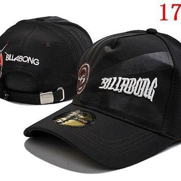 DCCKUN3 BILLABONG  embroidery Strap Cap Adjustable Golf Snapback Baseball Hat