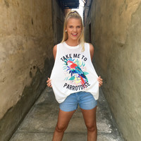Show Me Your Mumu: Take Me To PARROTDISE Mikey Muscle Tank