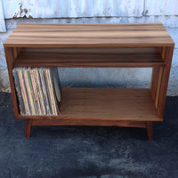 Modern LP record storage or Small Bookshelf
