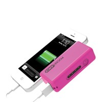 Pink 2200 mAh PocketJuice Power Bank