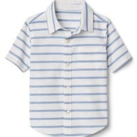 Stripe Oxford Shirt|gap